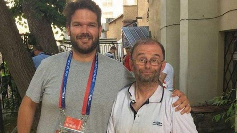 Британец Дуглас Моретон потерялся в России после игры Великобритания-Швеция - фото 1