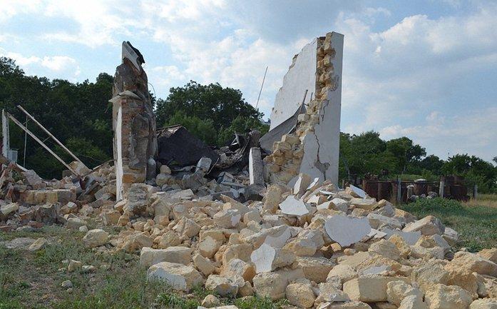 В Одессе взорвалось здание возле Гидрометцентра  - фото 1
