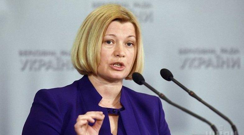 Ирина Геращенко ждет от Кабмина выполнения норм закона о реинтеграции Донбасса - фото 1