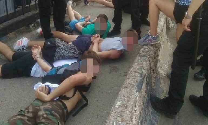 В Одессе перед Суперкубком футбольные фанаты устроили потасовки - фото 1