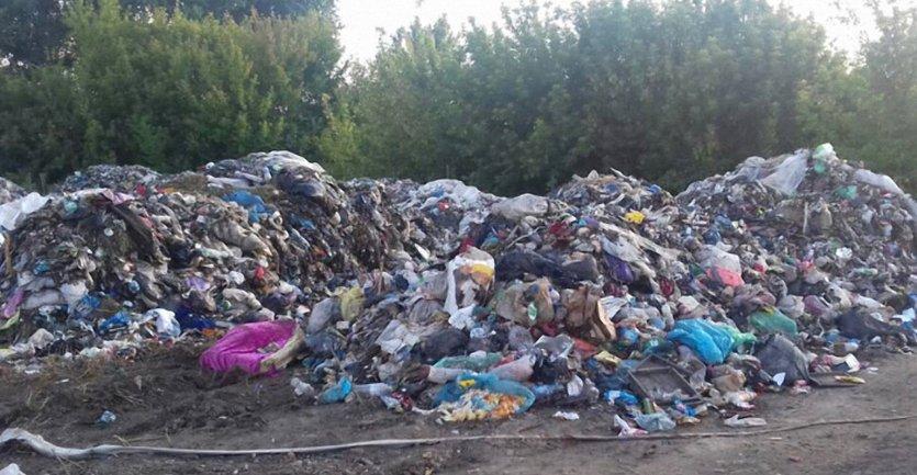 Весь мусор Львова пытались сбросить соседям - фото 1