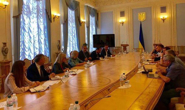 Ирина Геращенко побывала на встрече с родными политзаключенных Кремля - фото 1