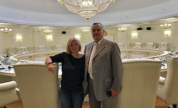 Ирина Геращенко отчиталась о заседании Тресторонней контактной группы - фото 1