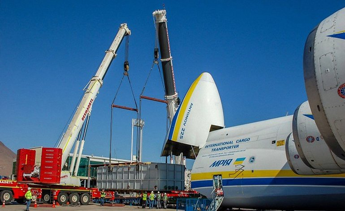 """Ан-225 """"Мечта"""" завершил рейс по доставке грузов из Чили в Боливию - фото 1"""