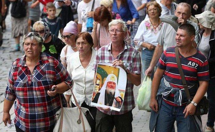 Крестный ход УПЦ МП ознаменовался скандалами - фото 1