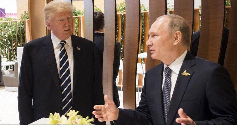 В галерее портретов президентов США неожиданно появился портрет Путина - фото 1