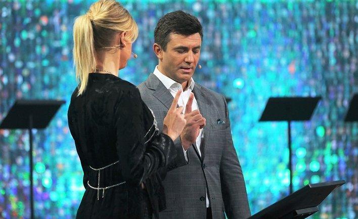Леся Никитюк возглавила шоу блондинок - фото 1
