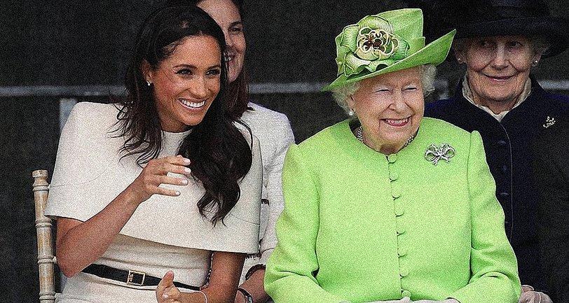 Королева Елизавета II намерена вступиться за Меган Маркл - фото 1