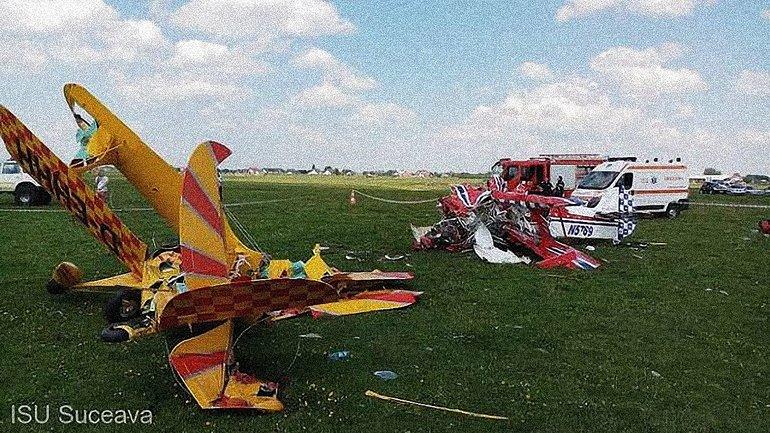 В небе над Румынией столкнулись два самолета - фото 1