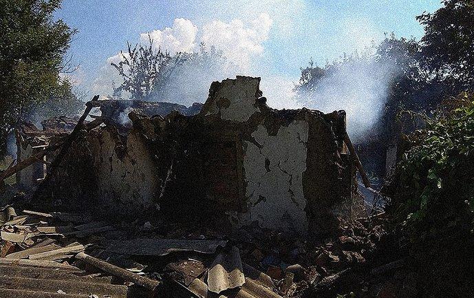 В Полтавской области взорвался дом - фото 1