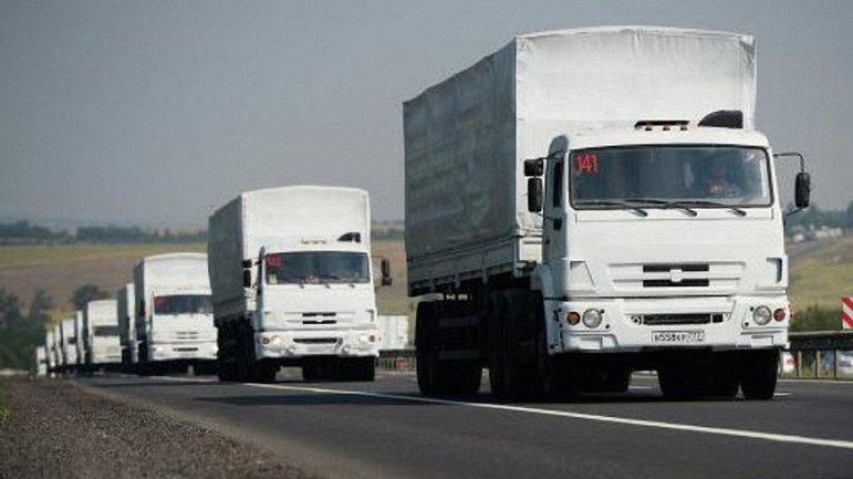 ОБСЕ зафиксировала незаконный въезд грузовиков из РФ на территорию Украины - фото 1