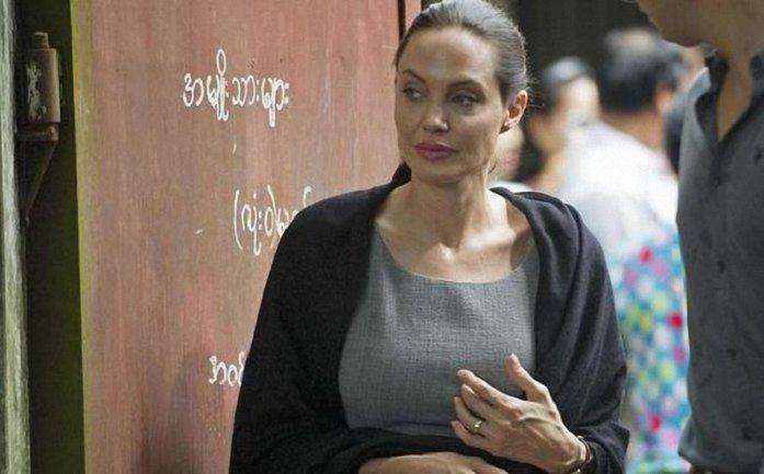 Страдающая анорексией и паранойей Анджелина Джоли попала в психбольницу - фото 1