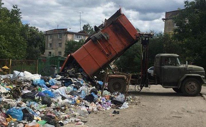 Дрогобыч продолжает утопать в мусоре - фото 1