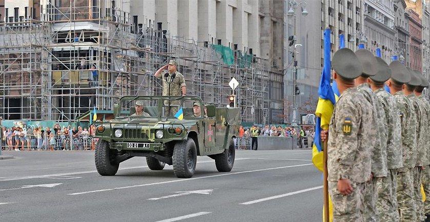 В параде ко Дню независимости примут участие военные из 18 стран - фото 1