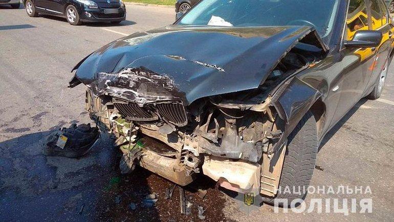 """В результате аварии пострадали дети-пассажиры """"БМВ"""" - фото 1"""