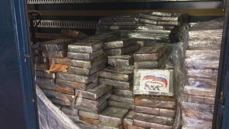 В бельгийском порту нашли две тонны наркотиков с логотипом «Единой России» - фото 1