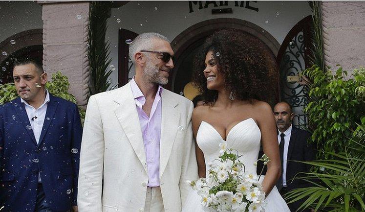 Венсан Кассель и ТинаКунаки поженились - фото 1