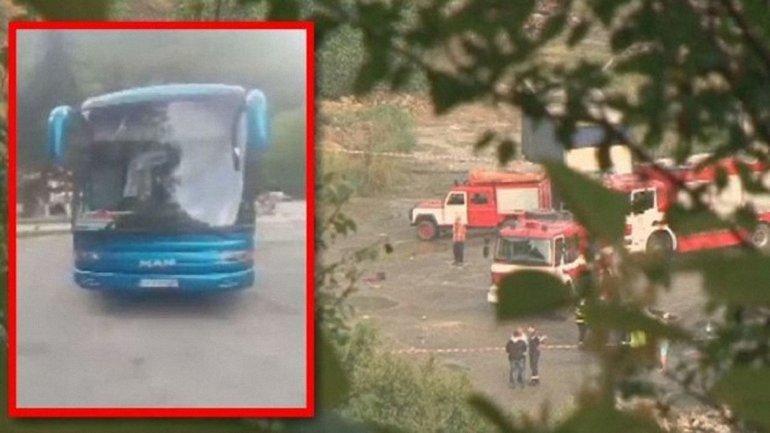В Болгарии перевернулся автобус с туристами - фото 1