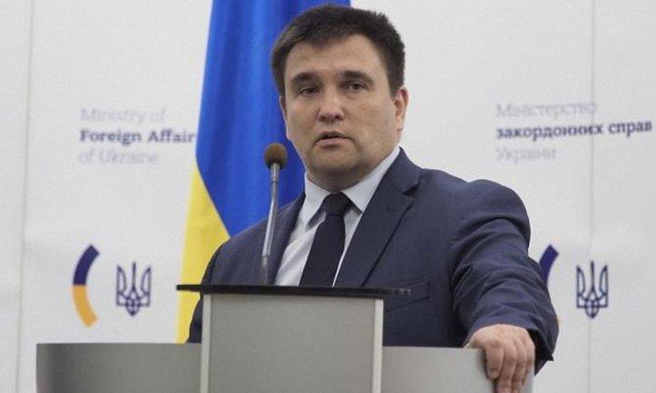 Климкин обещает быстро внести нужные документы в ВР