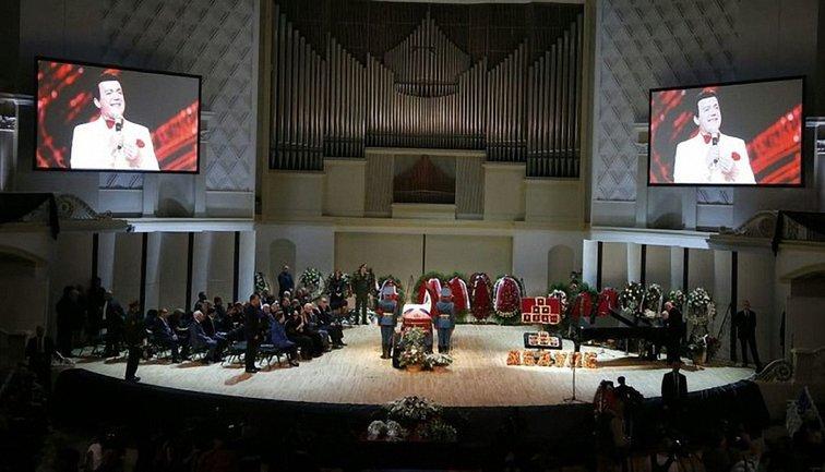 Похороны Кобзона - фото 1