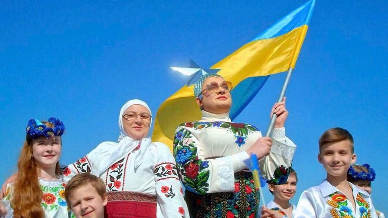Верка Сердючка выступила в России  - фото 1
