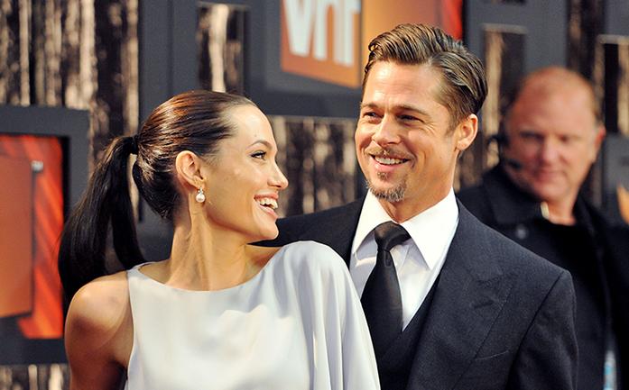 Анджелина Джоли рассказала об отношениях с Брэдом Питтом - фото 1