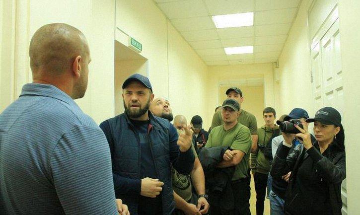 В Одесском медуниверситете бушуют титушки - фото 1