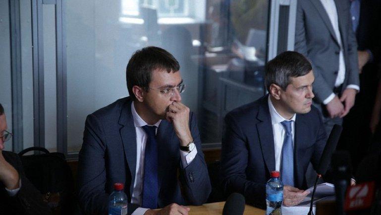 Министр в суде - фото 1