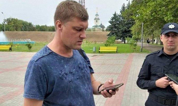 Сотрудник СБУ потерял удостоверение, пытаясь сбежать от патрульных - фото 1