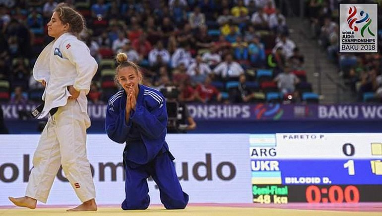 Дарья Билодид - самая молодая чемпионка мира в истории дзюдо - фото 1