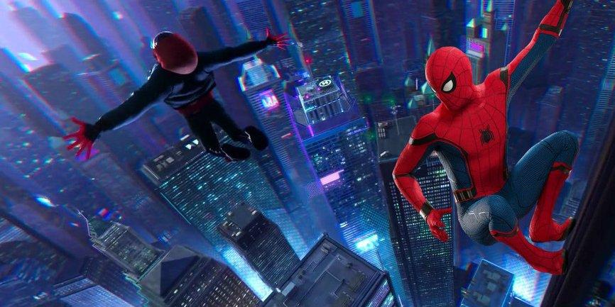В сети появиля новый трейлер мультфильма о Человеке-пауке - фото 1