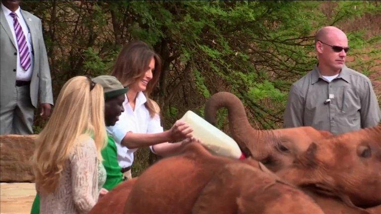 Мелания Трамп в Африке: первый сольный международный визит жены президента США - фото 1