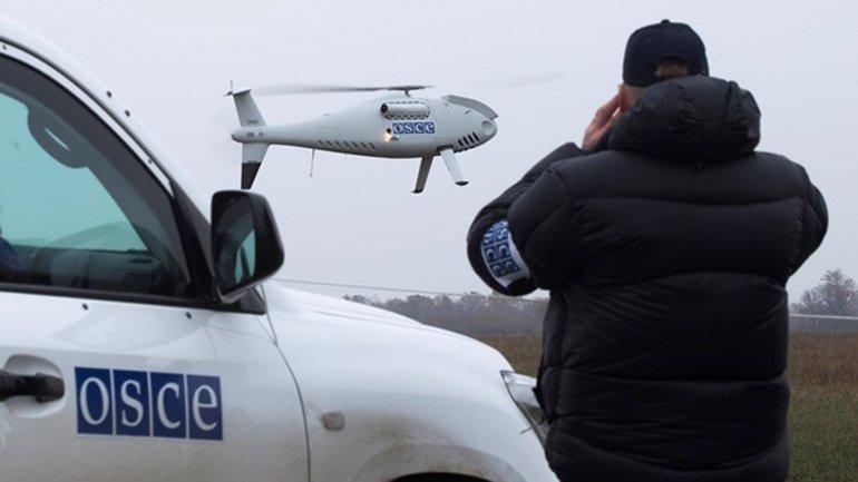 Технику оккупантов зафиксировал беспилотник ОБСЕ - фото 1
