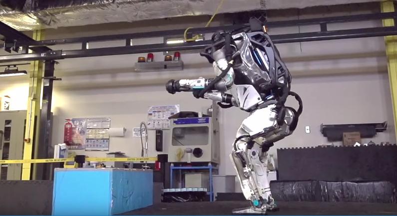 Человекоподобный робот Atlas - фото 1