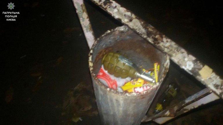 """Мужчина """"шутил"""", угрожая взорвать гранату в киевском магазине - фото 1"""