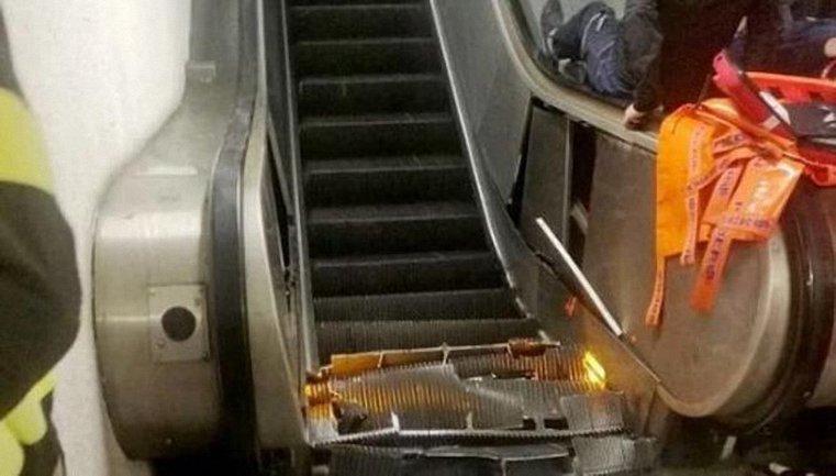 В римском метро пострадали украинцы - фото 1