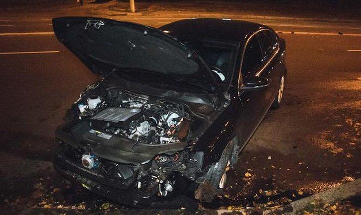 На Соломенской улице случились две эпичные аварии - фото 1