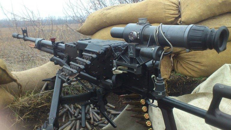 Украинским военным приходилось отвечать огнем на обстрелы террористов - фото 1
