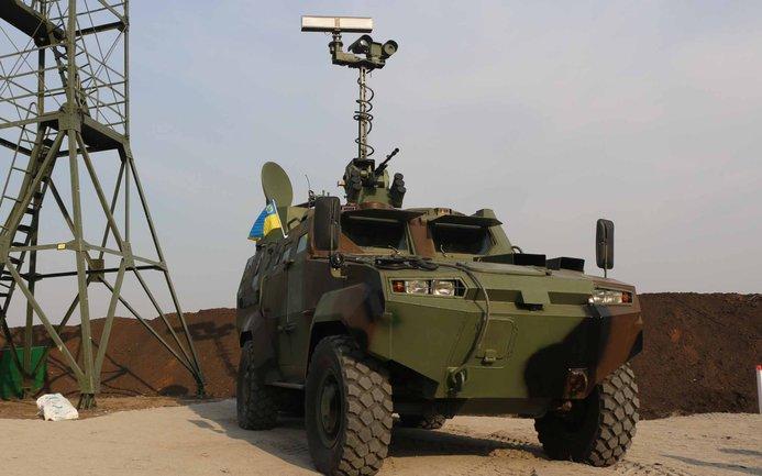 Украинские военные выключили беспилотник, летевший на территорию арсенала - фото 1