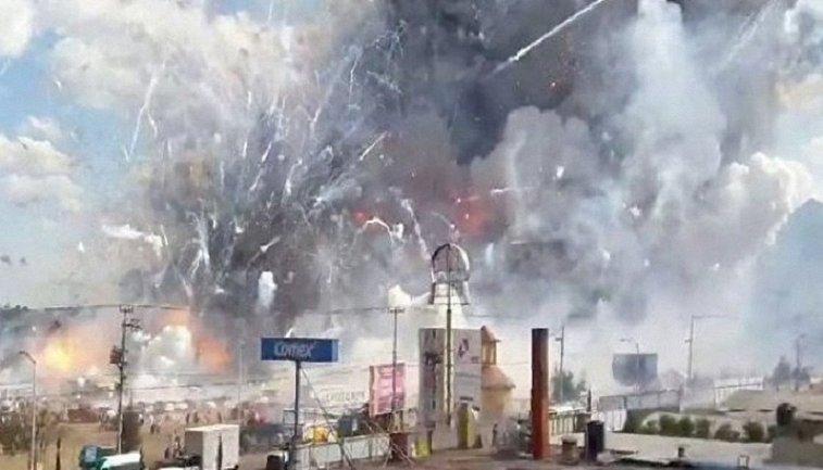В Испании произошел взрыв на заводе пиротехники - фото 1