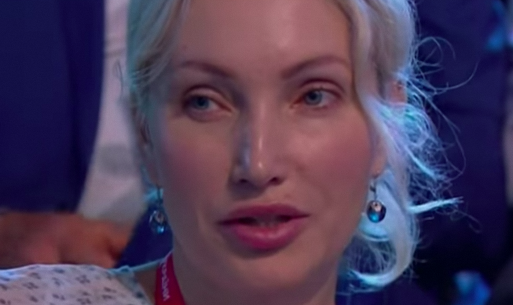 Ольга Яровая на сборище Тимошенко - фото 1