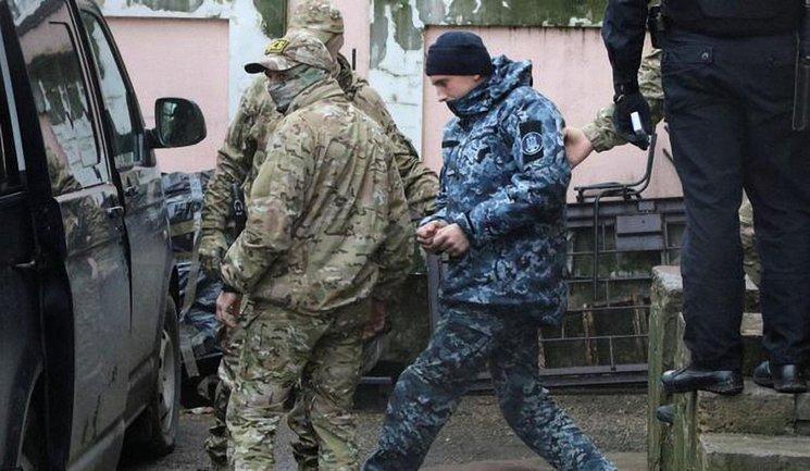 В Крыму бросили за решетку всех плененных украинских моряков - фото 1