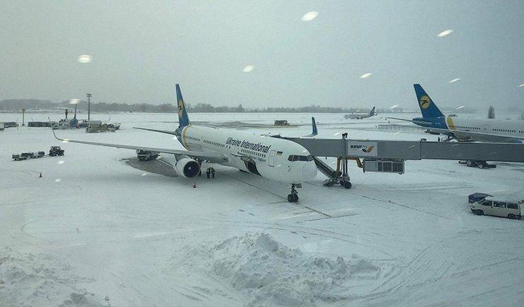 """В аэропорту """"Борисполь"""" переносят рейсы - фото 1"""