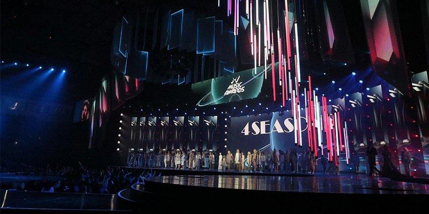 "M1 Music Awards 2018: победители премии  ""M1 Music Awards. 4 Seasons""  - фото 1"