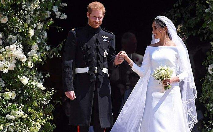 Опубликовано новое фото со свадьбы принца Гарри и Меган Маркл - фото 1