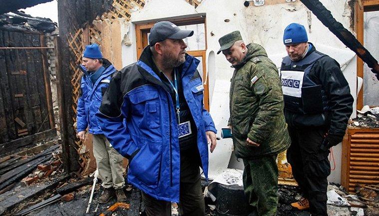 Наблюдателей ОБСЕ не пустили в села на Донбассе - фото 1