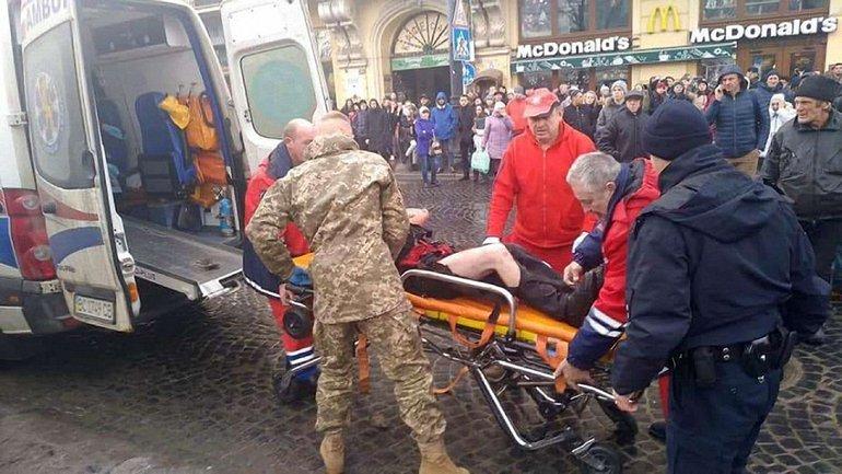 Умер один из пострадавших на ярмарке во Львове - фото 1