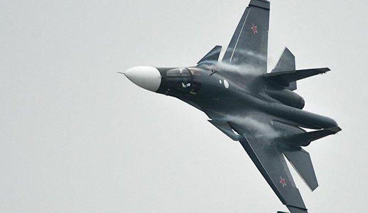 Два Су-34 столкнулись и развалились в рамках акции по устрашению мира - фото 1