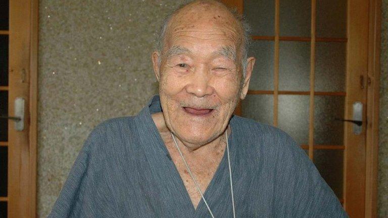В Японии умер самый старый мужчина в мире - фото 1