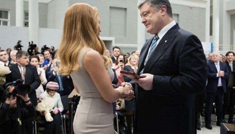 Порошенко поздравил Кароль с днем рождения - фото 1